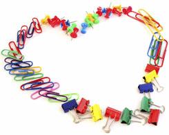 Paper-clip heart, Fishbowl Blog