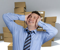 Warehouse headache, QuickBooks inventory management