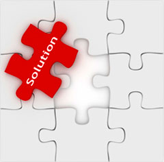 Solution puzzle piece, Fishbowl Blog