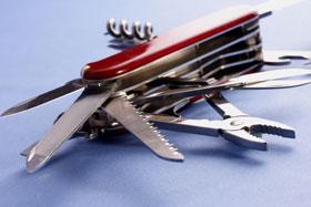 Swiss Army knife, Fishbowl Blog