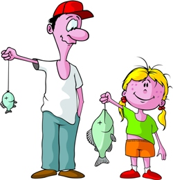 Father and daughter fishing, Fishbowl Blog