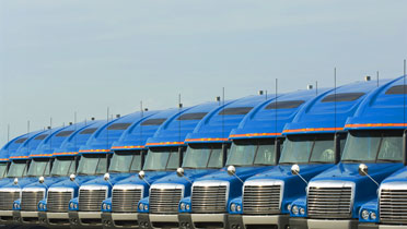 Supply chain trucks, QuickBooks Manufacturing Blog