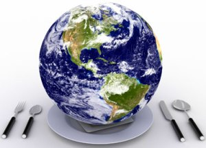 Earth on a plate, Fishbowl Blog