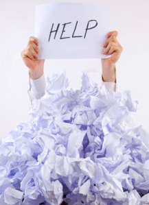 Help paper mess, Fishbowl Blog