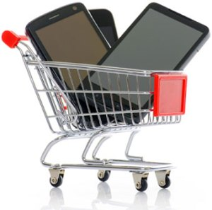 Smartphone shopping cart, Fishbowl Blog