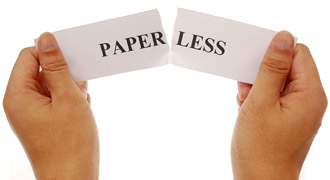 Paperless piece of paper, Fishbowl Blog