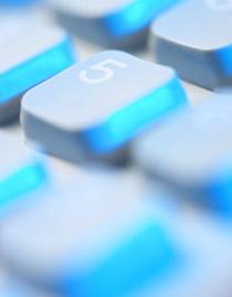Keyboard number 5 button, Fishbowl Blog
